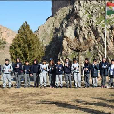 Grade 5 Students in Soran Visit Water Plant