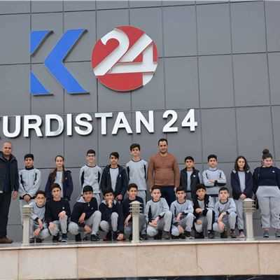 Soran Students Visit K24 Media Station