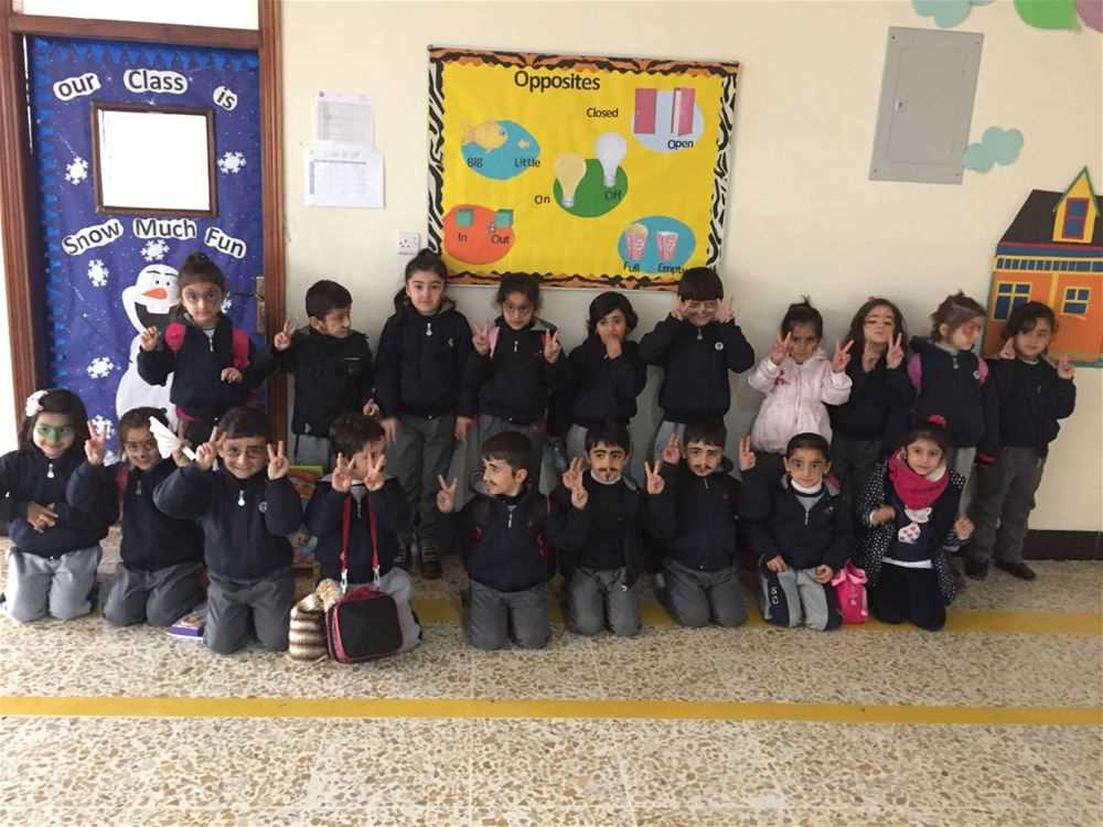 Soran Prefects Organize Face Painting in the KG Department
