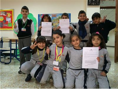 Thank You Letters for Charity Campagin Participation (Soran I.S)