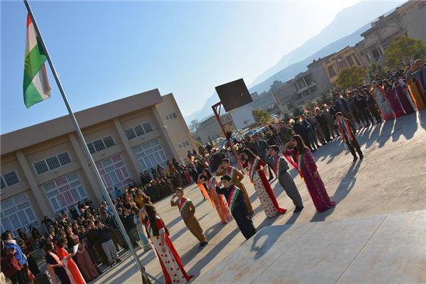 Soran Students Celebrate Flag Day