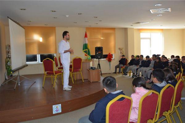 Soran Students Visit Ashti Hospital