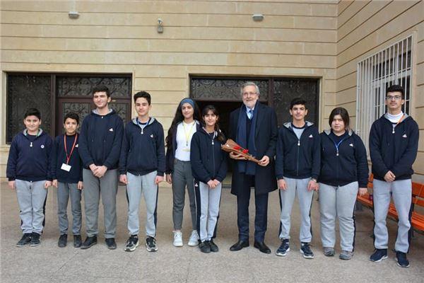 SABIS PRESIDENT MR. CARL BISTANY VISIT TO SORAN INTERNATIONAL SCHOOL